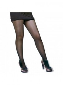 Collant grande taille - collant massant semi-contention 70 deniers noir Glamory