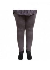 Legging grande taille - legging gris Danny (face)
