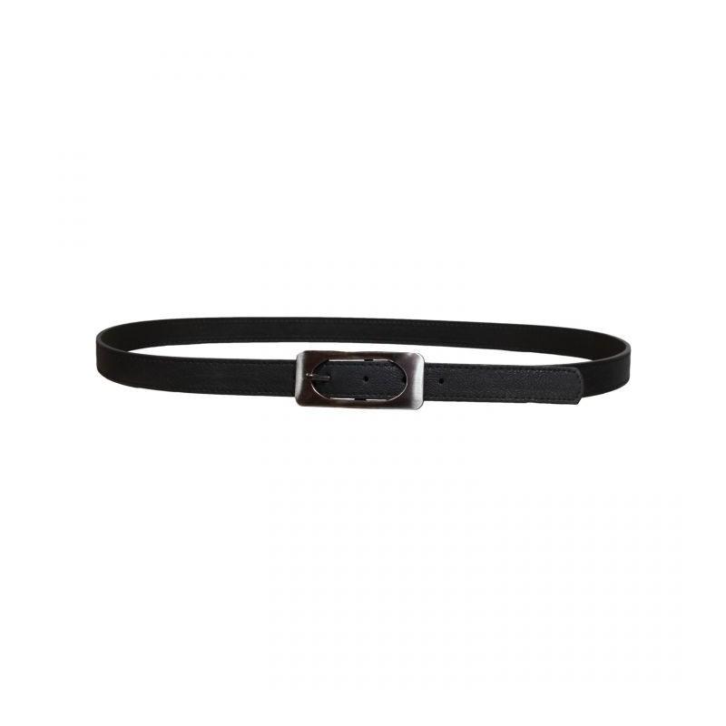 ceinture grande taille - ceinture avec boucle rectangulaire coloris noir
