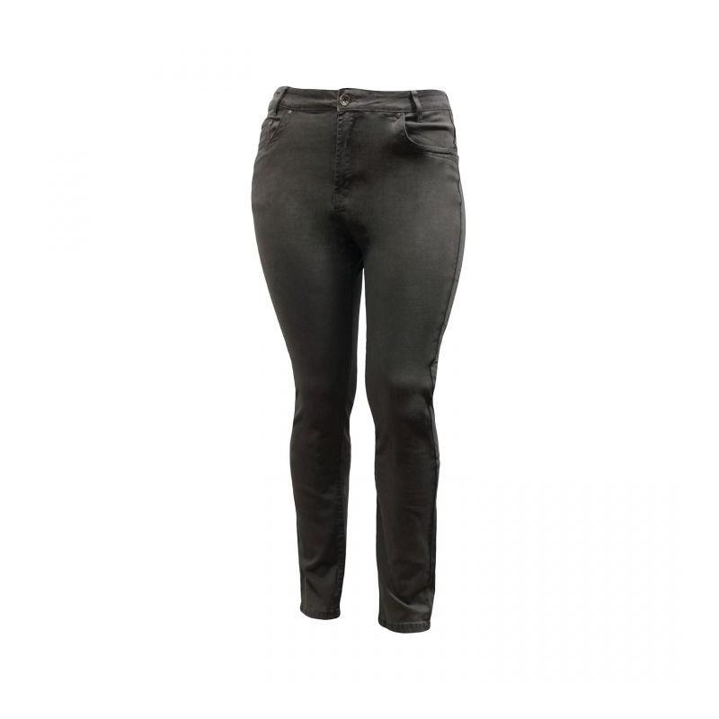 pantalon grande taille - jean slim gris Nana Belle (face)