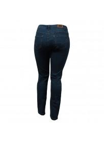 jean grande taille - jean slim bleu navy nanabelle (dos)