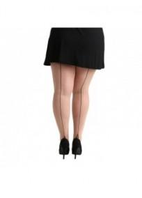 collant fantaisie grande taille - collant couture arrière jive pamela mann