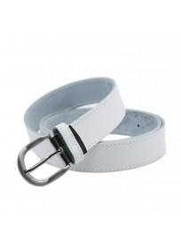 ceinture grande taille - ceinture Yves blanche (2)