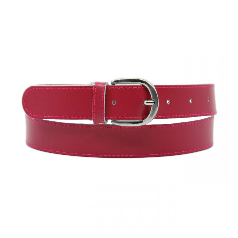 ceinture grande taille - ceinture Yves fuchsia