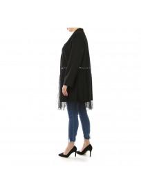 Veste grande taille - veste légère à oeillets 2W (côté)