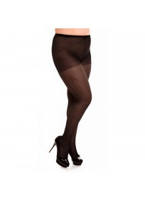 Collant fantaisie grande taille - Collant noir Honey 20 Glamory