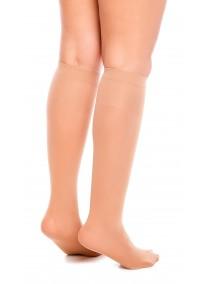 chaussette mi-bas pour mollet fort grande taille femme make up