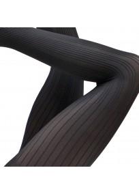 """collant fantaisie grande taille - collant 50D noir """"Devon"""" Cette (détail)"""