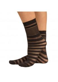 Chaussette courte à rayure Zebra Cette