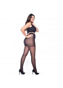 collant couture grande taille Jive noir couture noire Pamela Mann